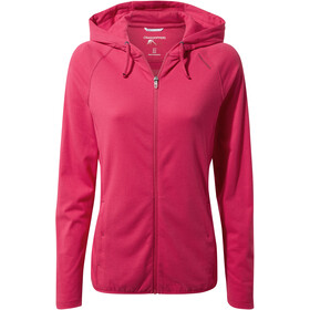 Craghoppers NosiLife Sydney Hooded Top Damen winter rose